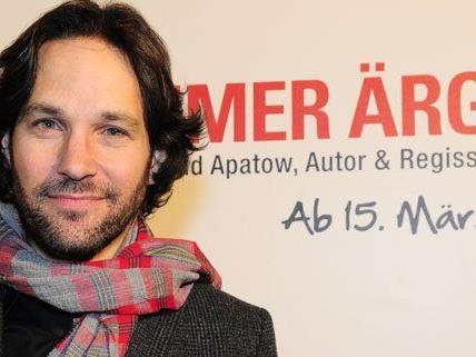 Paul Rudd präsentierte seinen neuen Film in Wien