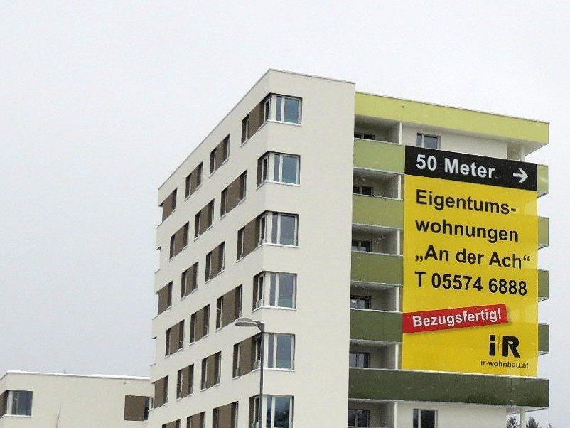 Eigentumswohnungen in Bregenz zu vergeben