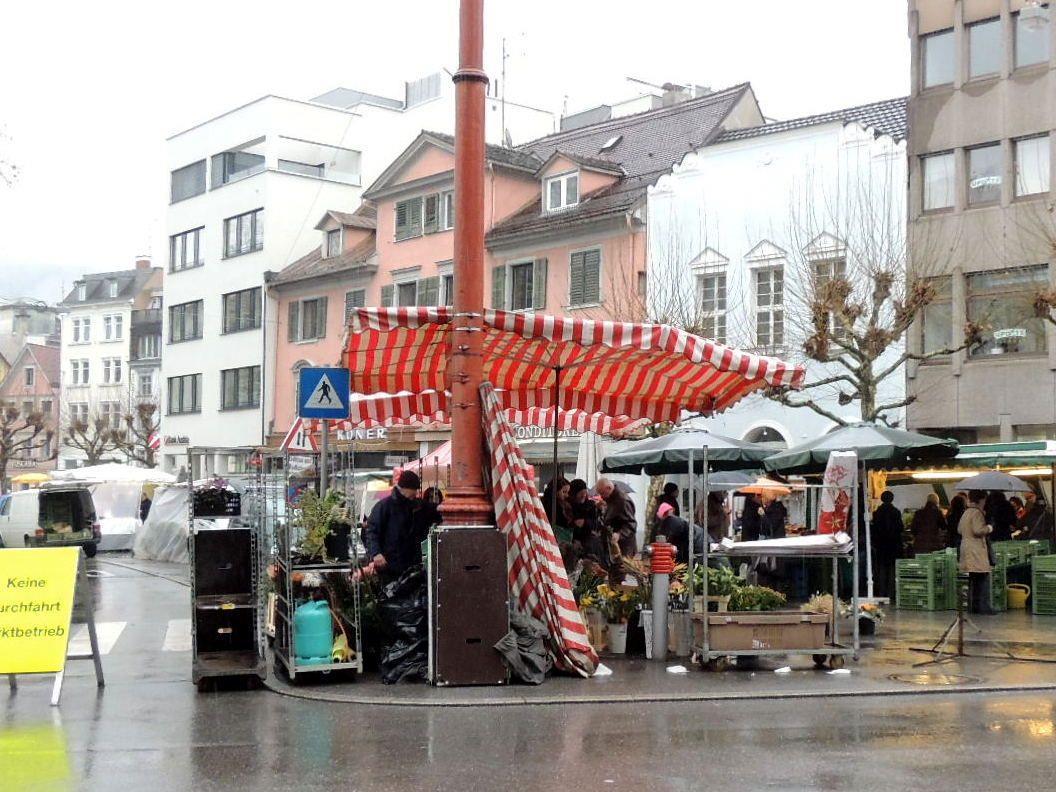 Marktplatz wird in die Bahnhofstraße verlegt