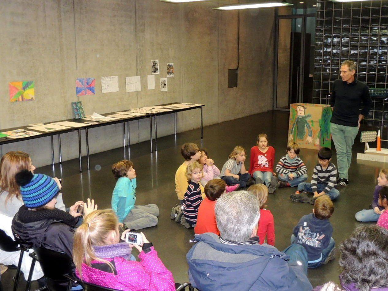 Eltern und Kinder waren vom Workshop begeistert