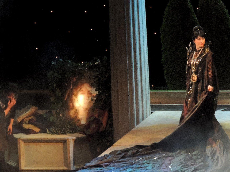 Auftritt der Königin der Nacht  Zauberföte
