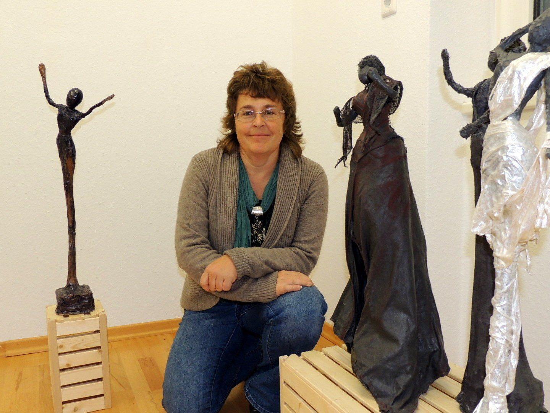 Künstlerin Astrid Schaback-Ulrich