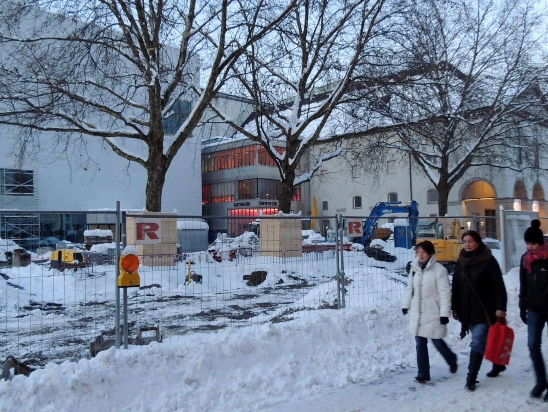 Winterlicher Kornmarkt