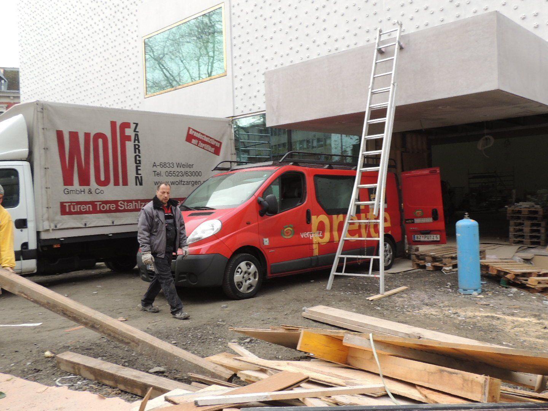 vorarlbergmuseum soll bald fertig sein