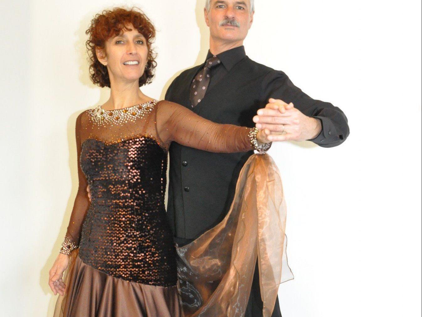 Das neue Tanzpaar der Tanzgruppe Koblach: Ingrid Mol und Thijs Niesten