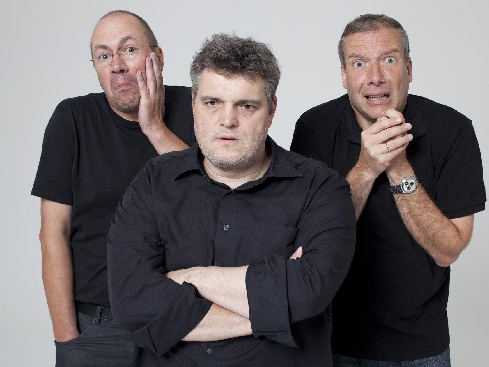 Bernie Weber, George Nussbaumer, Stefan Voegel
