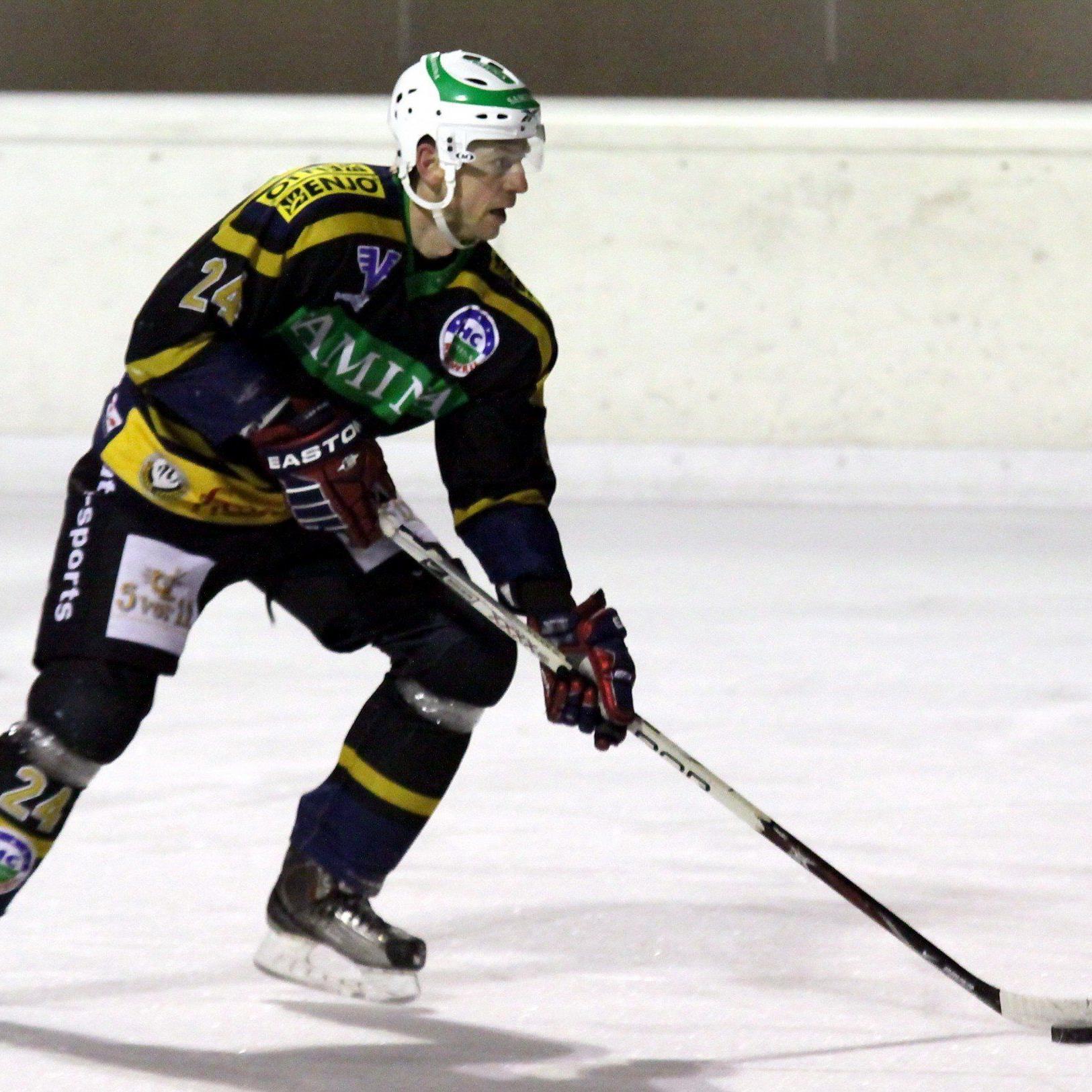 Der 42-jährige HCR-Legionär Tomas Kucharcik muss wegen einer Knieverletzung noch pausieren.