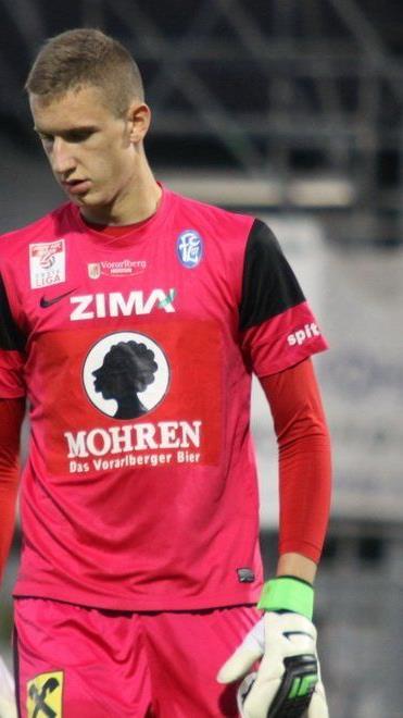 FC Lustenau-Goalie Reuf Durakovic wechselt für sechs Monate nach Varese in Italien.