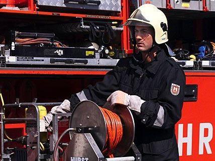 Die Feuerwehr rückte zu einem Einsatz in Döbling aus