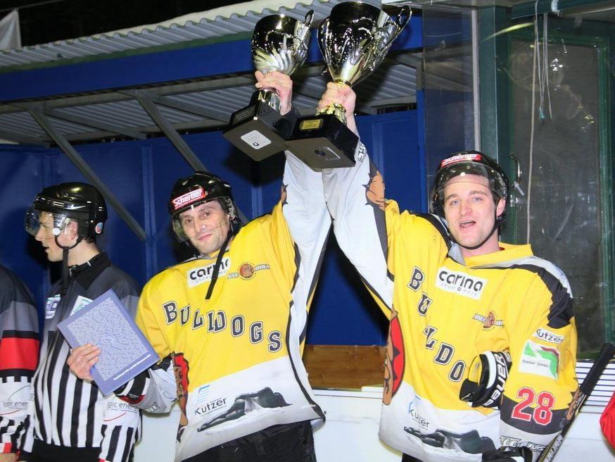 Die Bulldogs Dornbirn AH wurde beim ersten Antreten sensationell Vorarlberger Cupsieger.