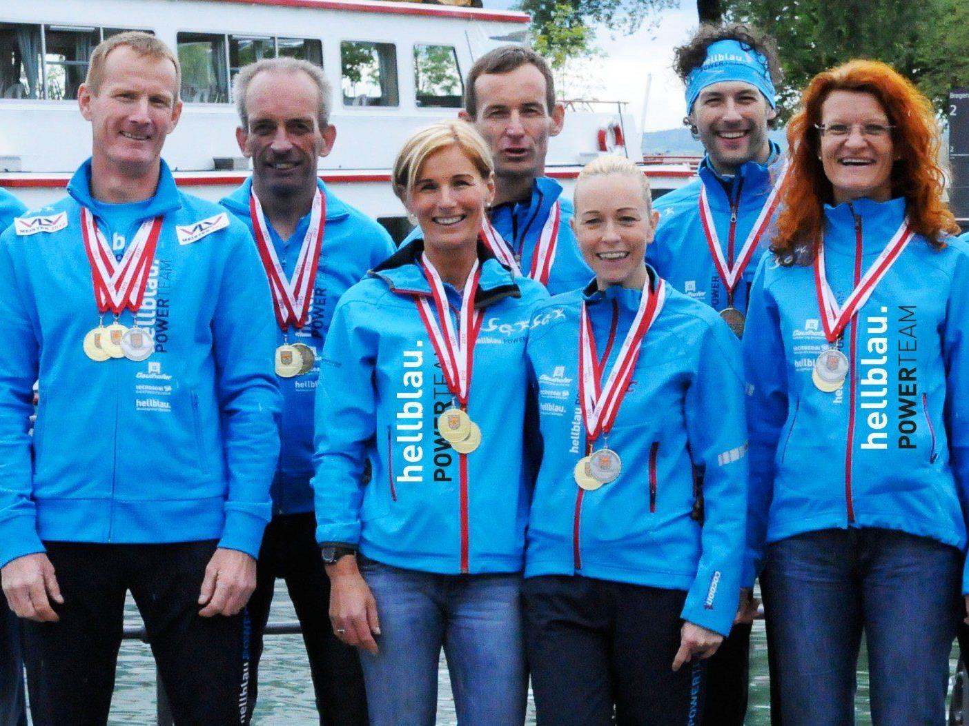 Erfolgreiche Mannschaft 10 km Strassenlaufmeisterschaft 2012