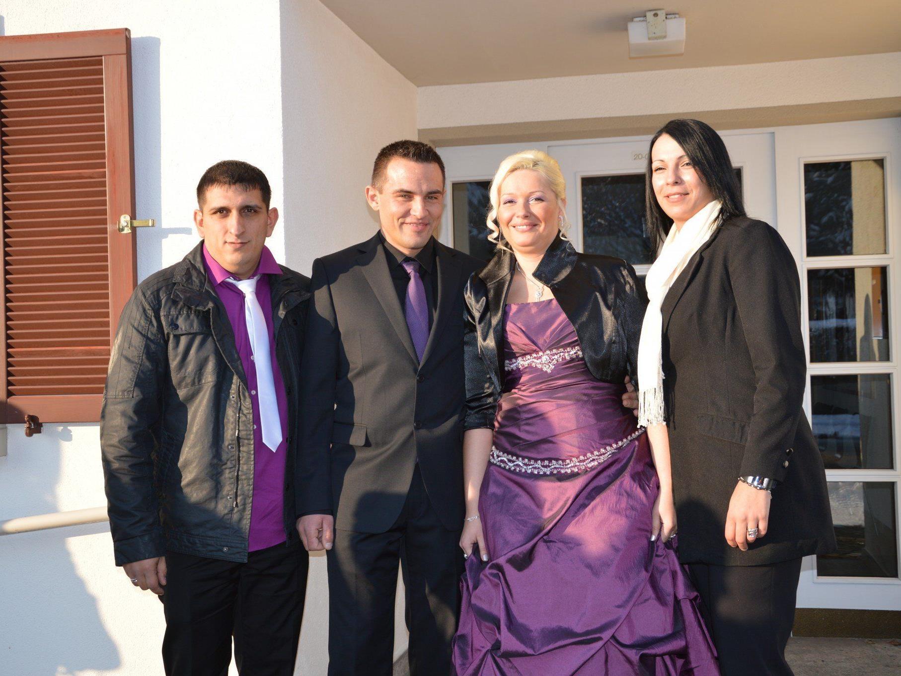 Maja Grabenhofer und Milan Milojevic haben geheiratet
