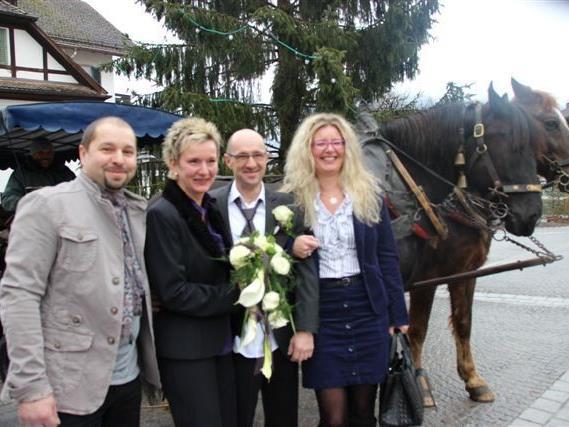 Yvonne Rotzler und Rolf Guthauser haben geheiratet.