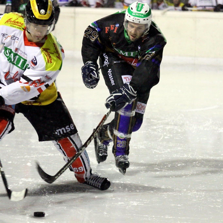 VEU Feldkirch verlor das Auswärtsspiel in Zell am See trotz guter Leistung mit vier Toren Differenz.