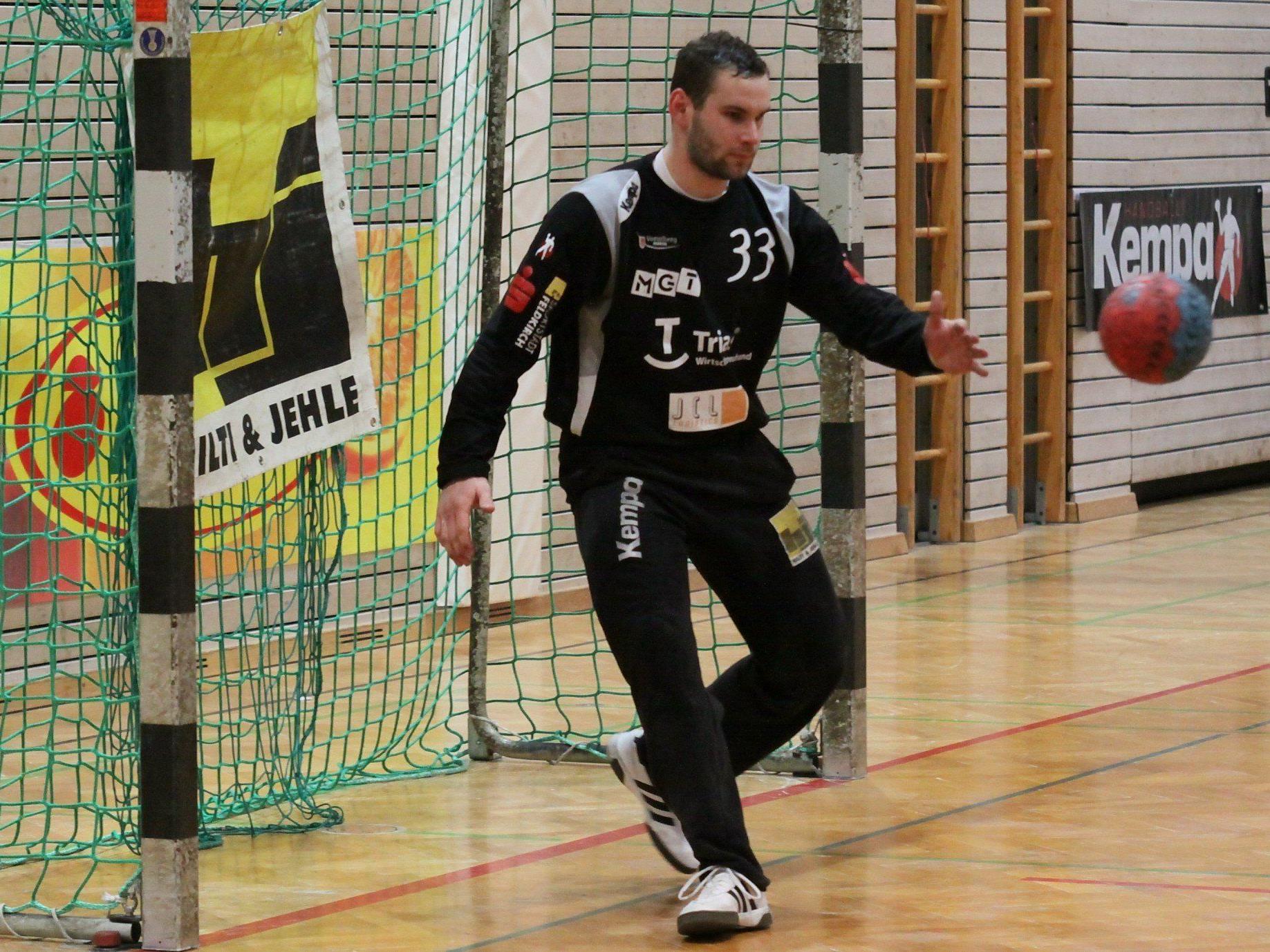 Feldkirch-Goalie Alexander Hintringer wurde zu Unrecht ausgeschlossen und man hofft auf keine Sperre.