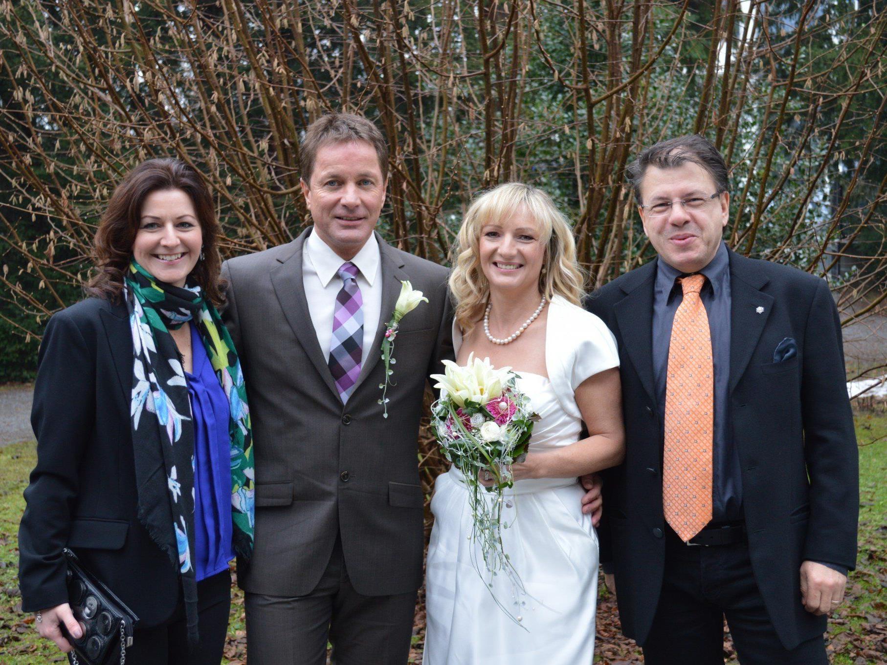 Erika Gallaun und Rudi Hagen haben geheiratet