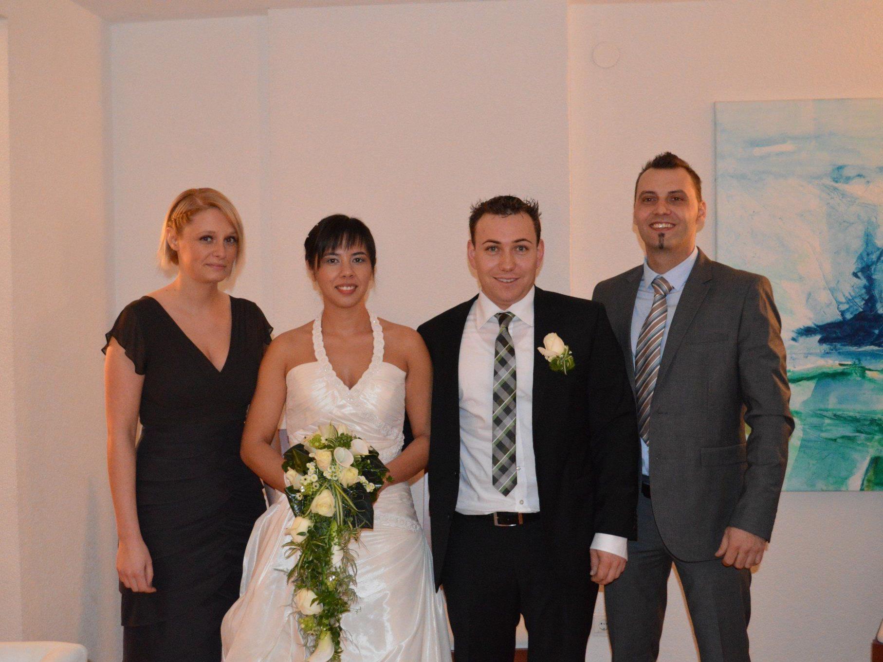 Sandra Meier und Karl Meitz haben geheiratet