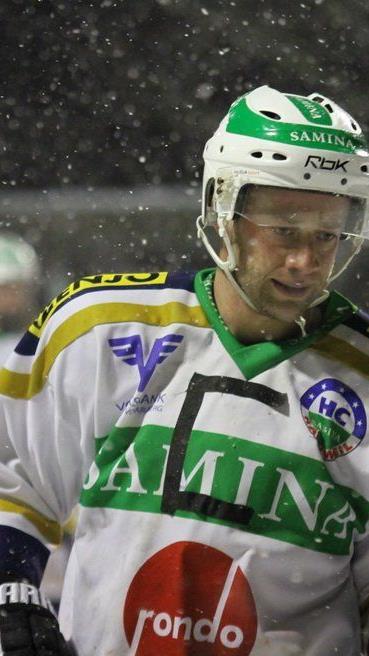 Kapitän Philipp Amann schoss für den HC Samina Rankweil im Schlager das 100. Meisterschaftstor.