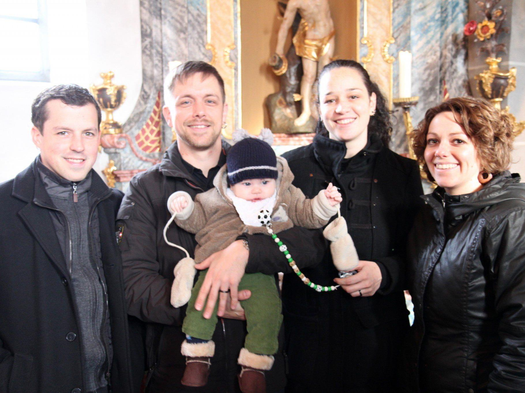 Taufe von Erik Remigius Baur