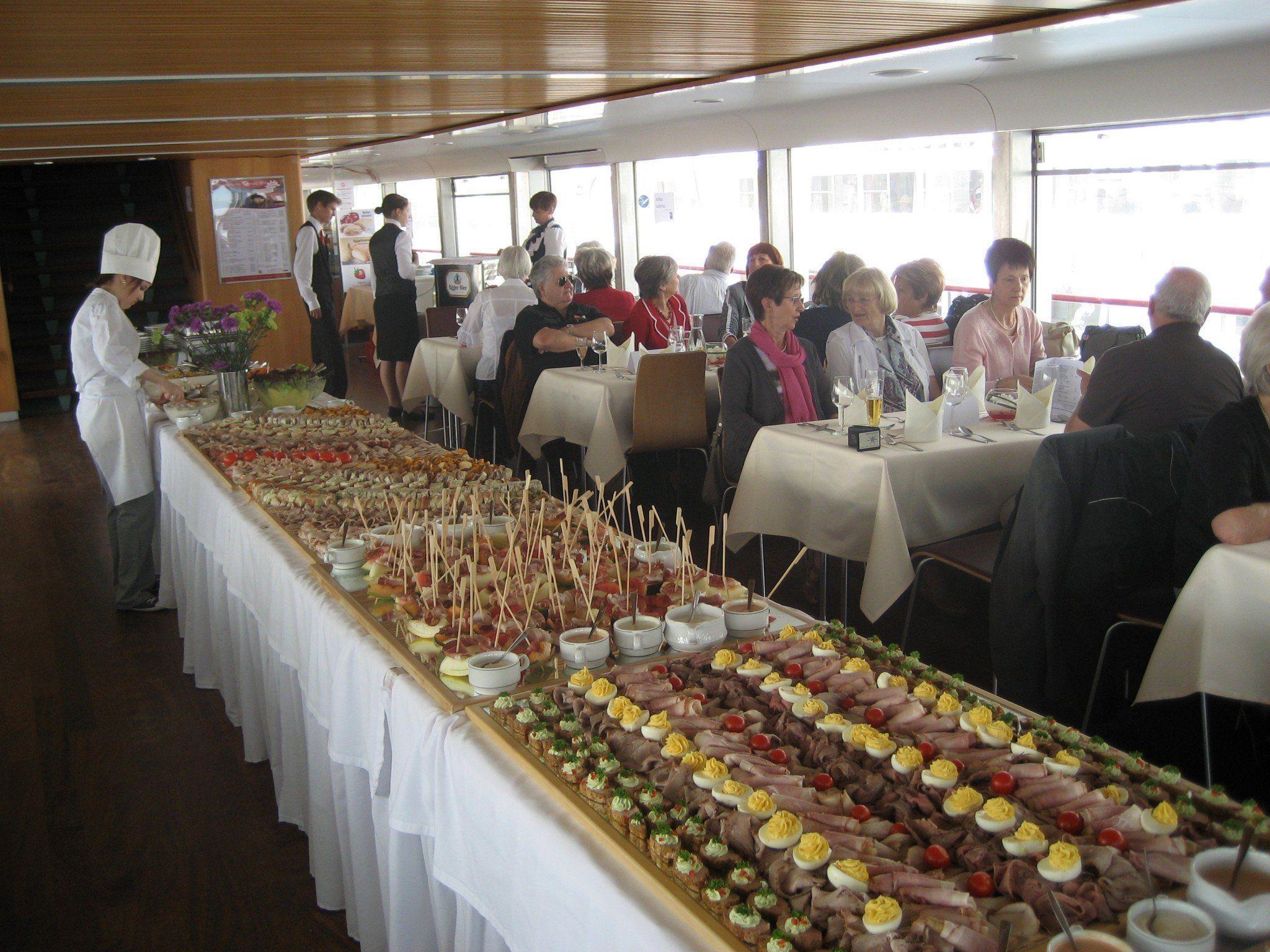 Das Kalte Buffet bei der Bodenseeschifffahrt