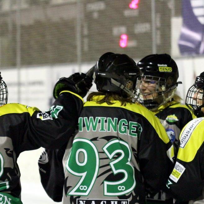 Zwanzig Mal Torjubel im Heimspiel der Wildcats Lustenau gegen die VEU Feldkirch Hockey Chicks.