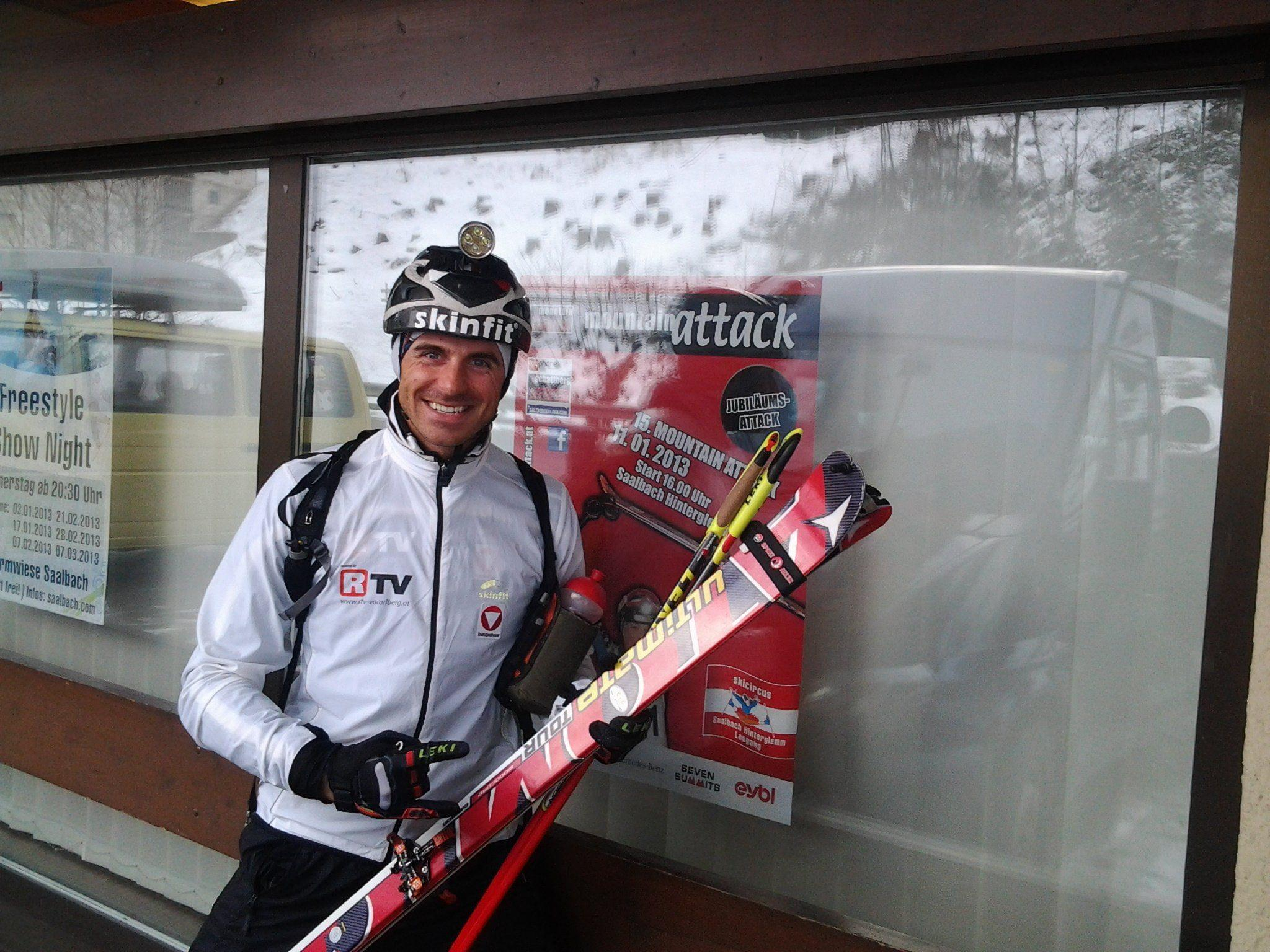 Patrick Innerhofer wurde in Saalbach sensationell Sechster und hat national den Durchbruch geschafft.