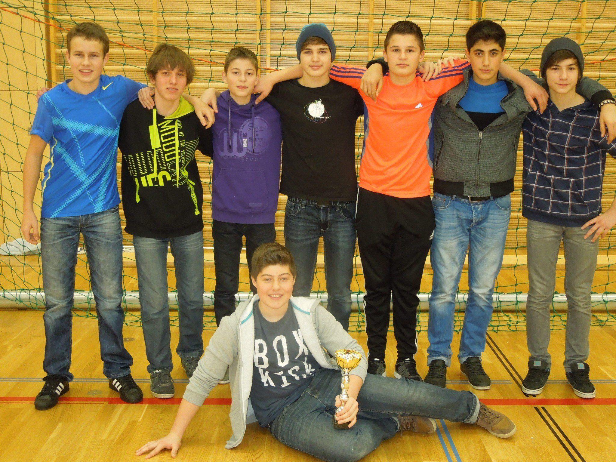 Der Sieg beim Futsal-Hallenturnier des FC Dornbirn in der Altersklasse U15 ging an den FC Höchst.