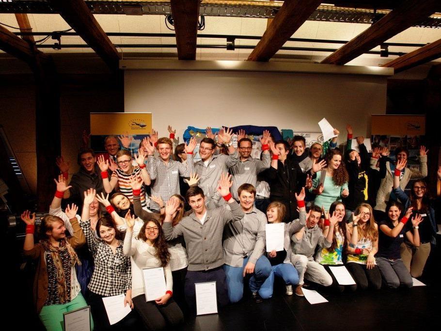 Jugendliche aus dem Bodenseeraum haben ihre Projektideen vorgestellt.