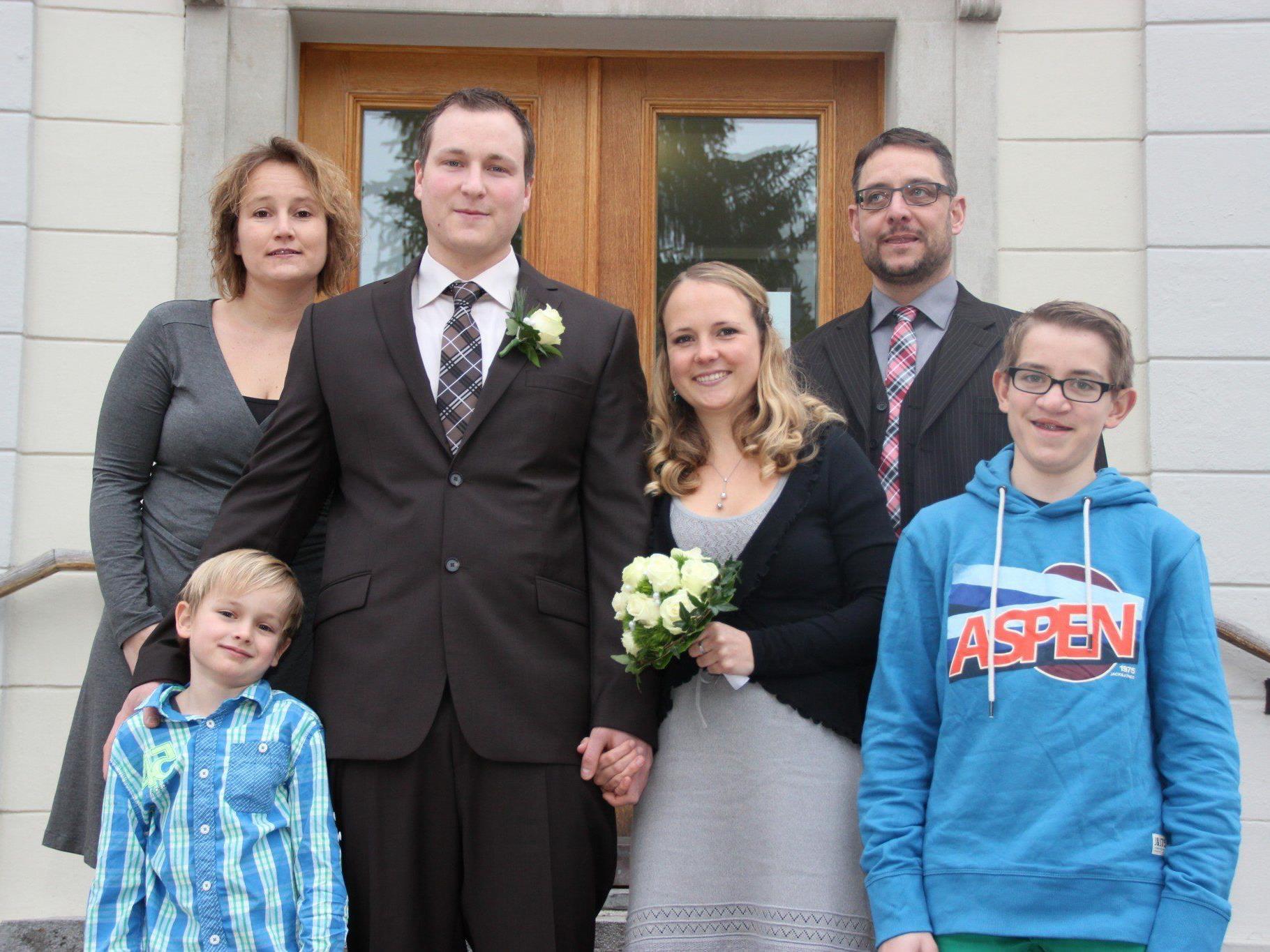 Antonia Schabio und Martin Kräber haben sich vermählt.