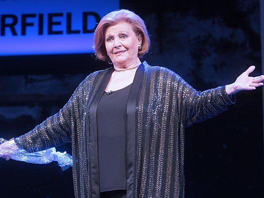 Louise Martini bei ihrem 60. Bühnenjubiläum