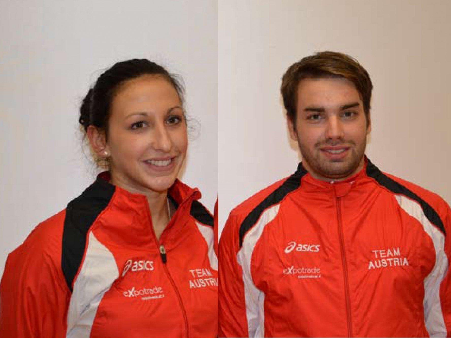 Bilden ein neues Duo im 2er der offenen Klasse Nadine Gasser und Joachim Allgäuer.