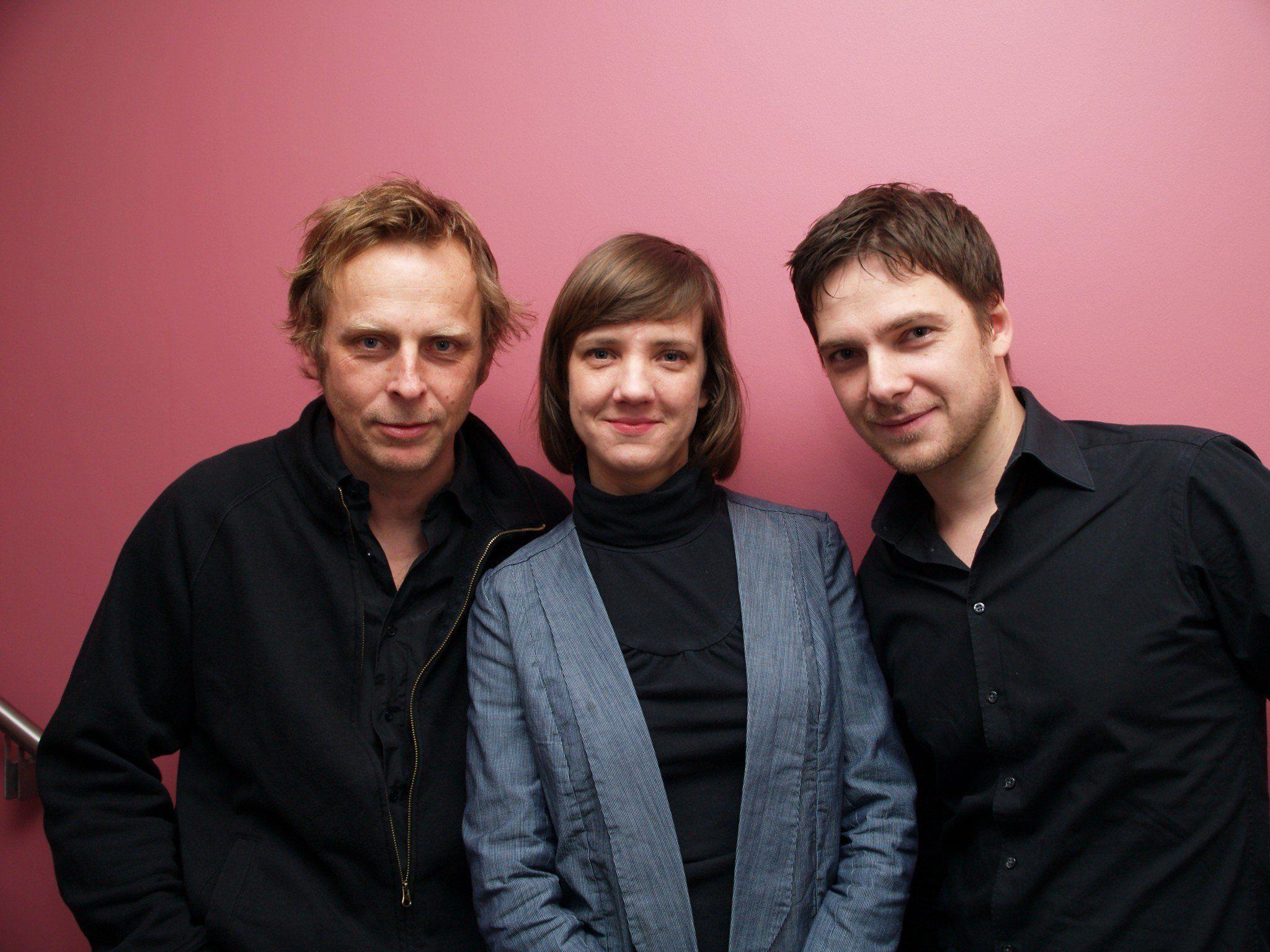 Regisseur Florian Flicker, Doris Scheidtinger und Schauspieler Stefan Pohl