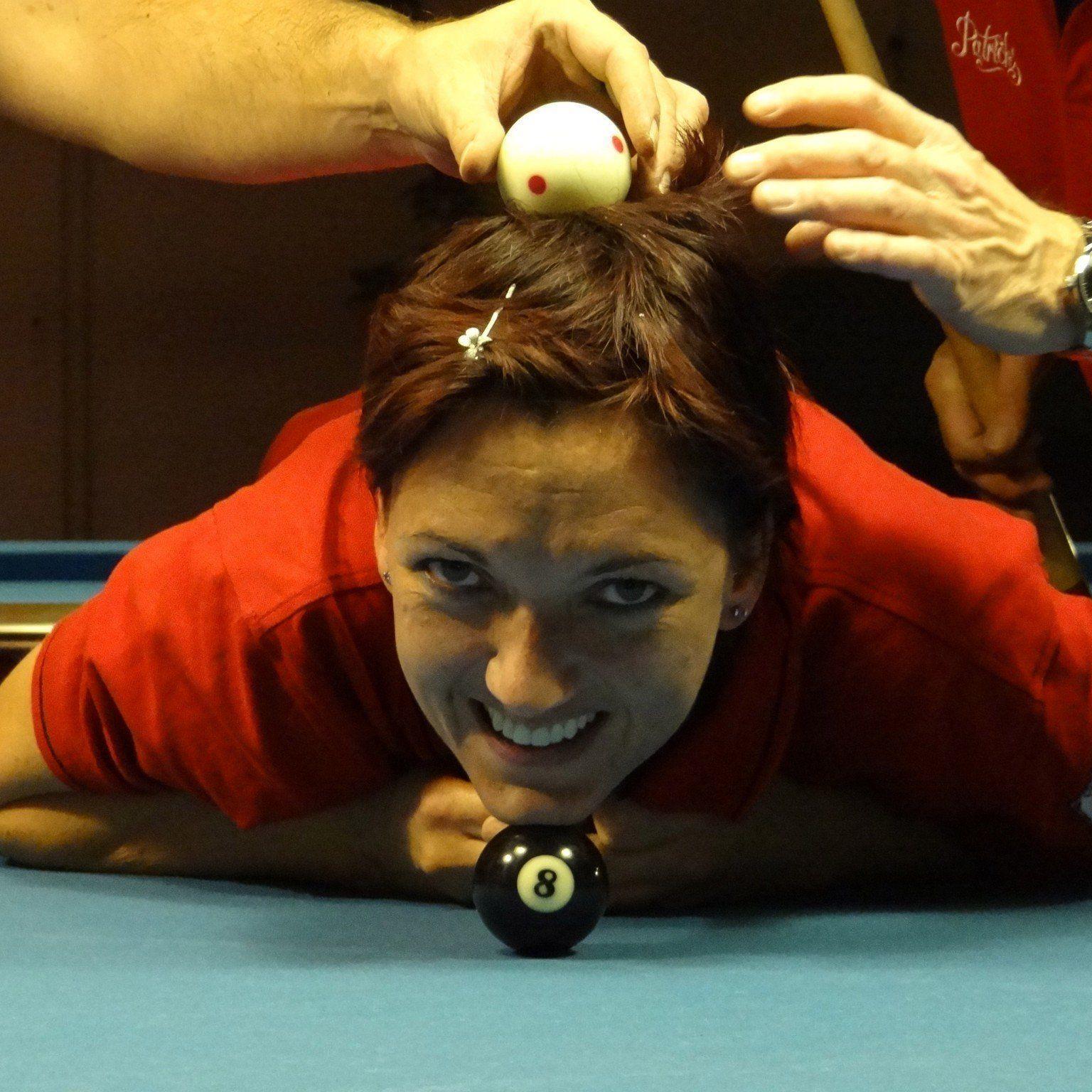 Billardspielerin und nun auch Obfrau vom PPK Rankweil: Isabella Pack hat konkrete Ziele.