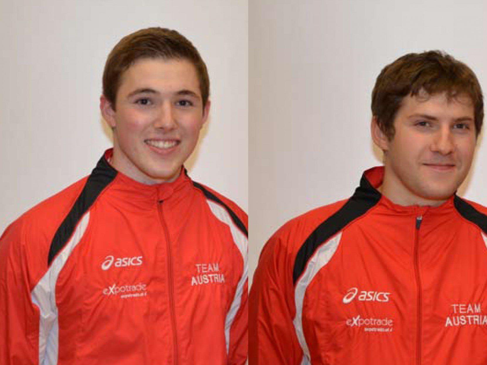 Bilden das neuformierte Team Höchst1 Patrick Schnetzer und Markus Bröll.
