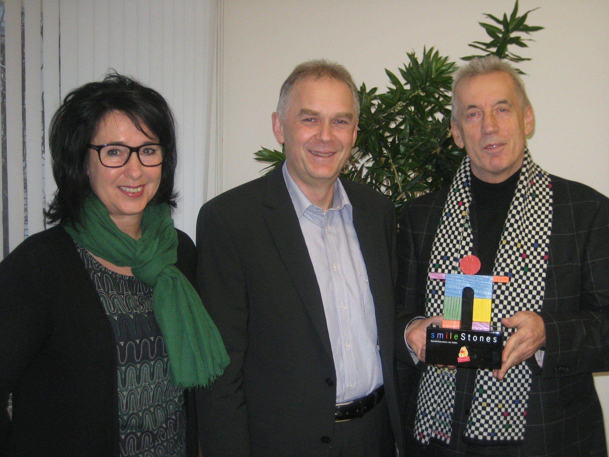 vlnr: Angelika Fertschnig, Josef Lins, Hubert Löffler