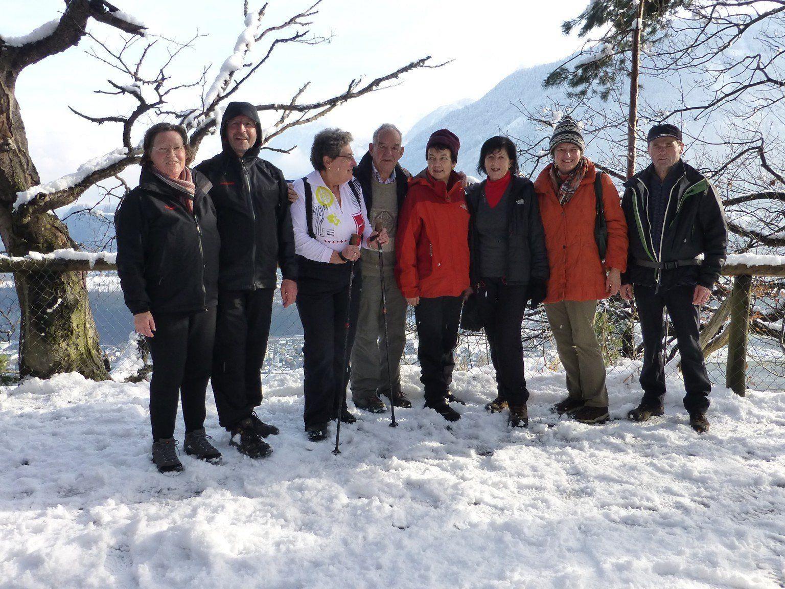 Kneipp Aktiv Club Altach Wanderung