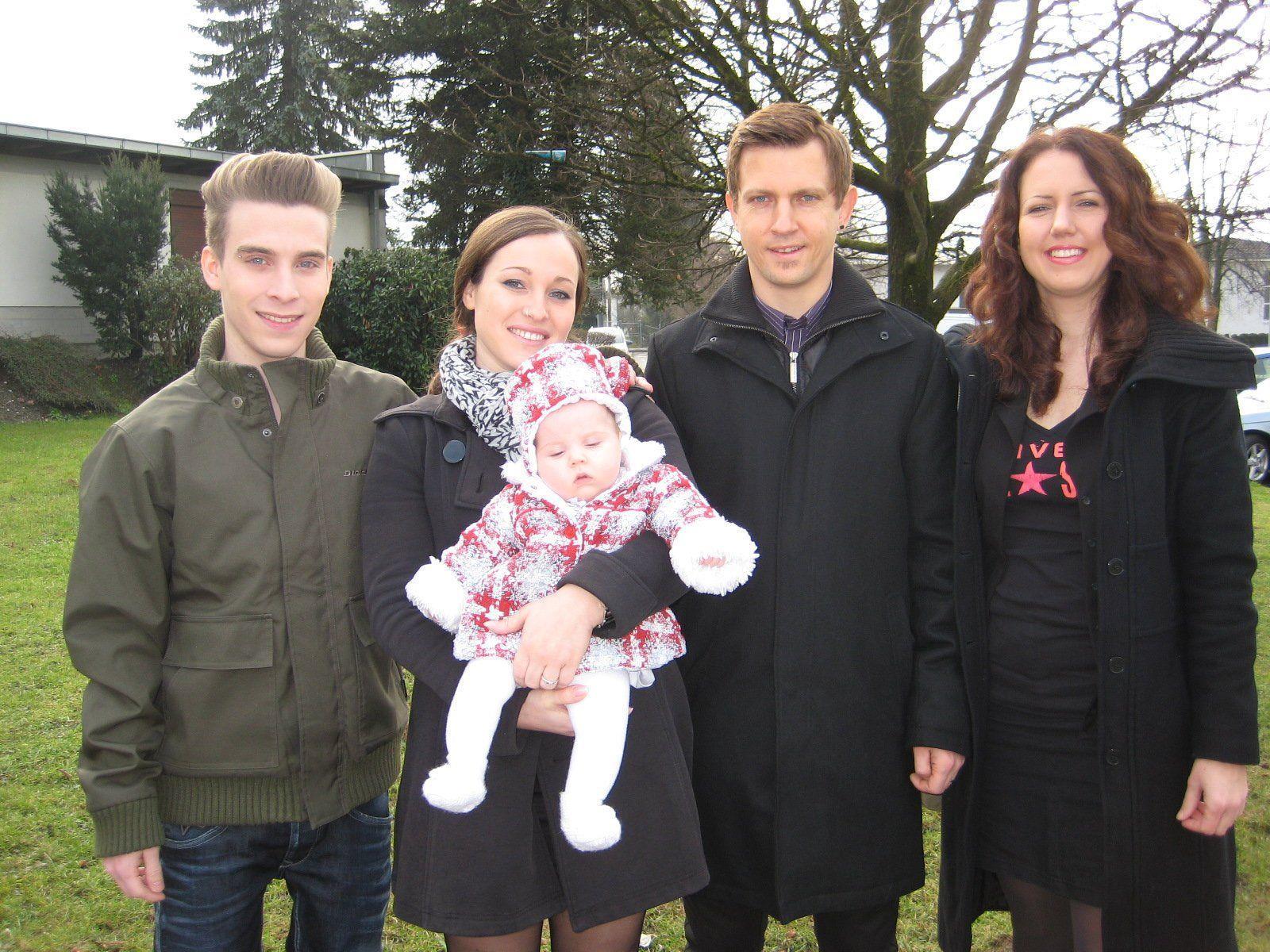 Sofia Coldebella wurde getauft.