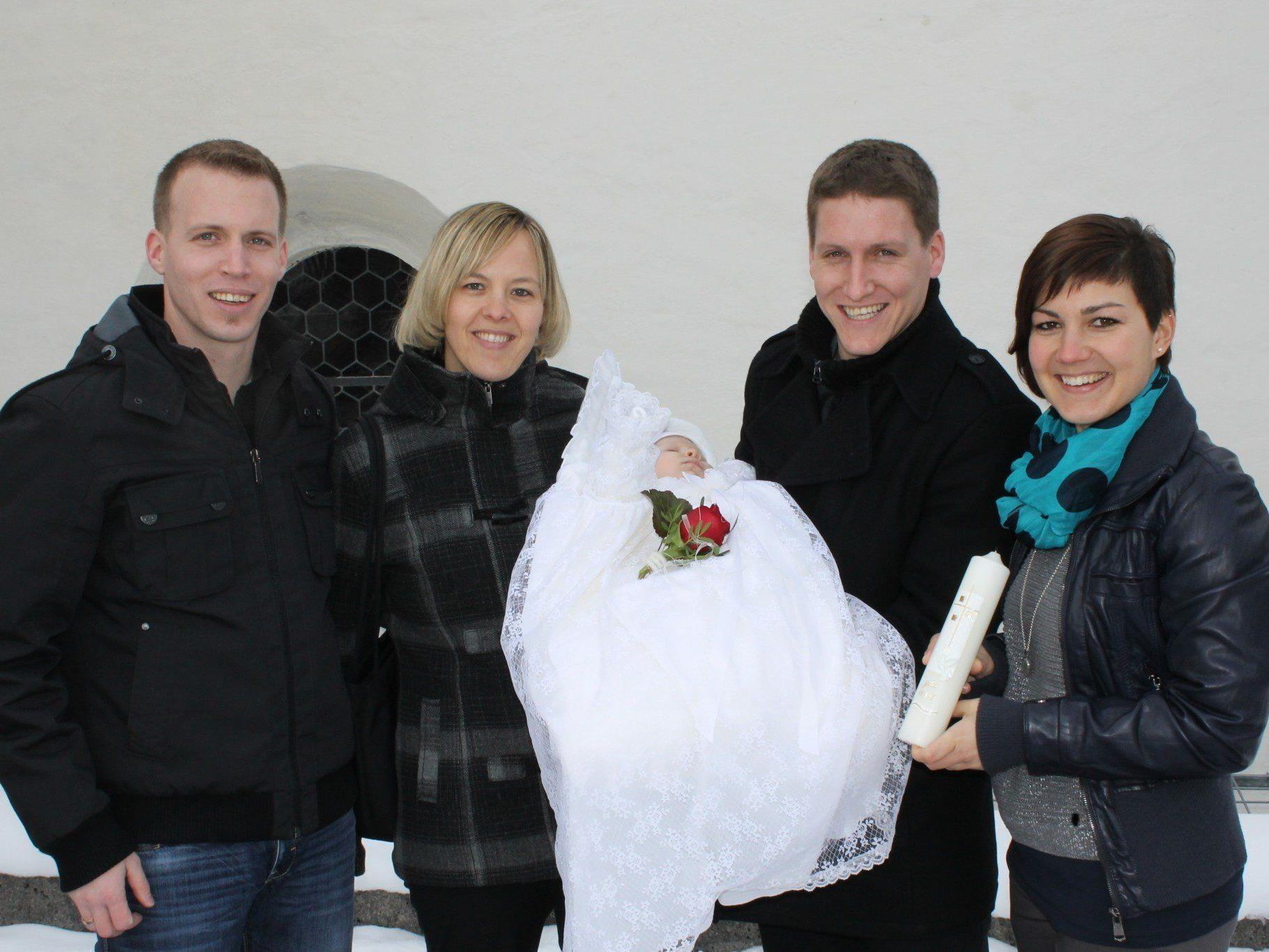 Julia Burtscher wurde getauft