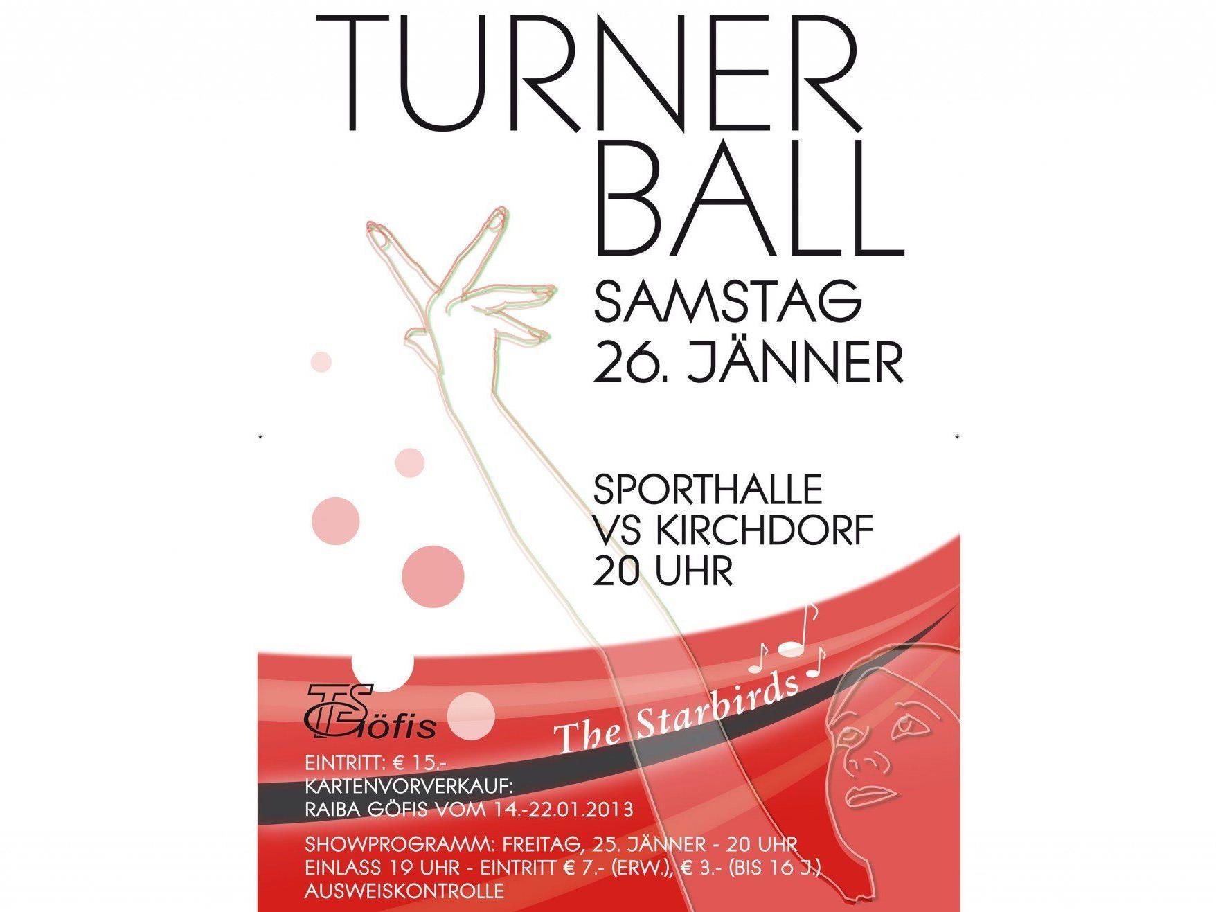Turnerball-Wochenende - 25. und 26. Jänner 2013