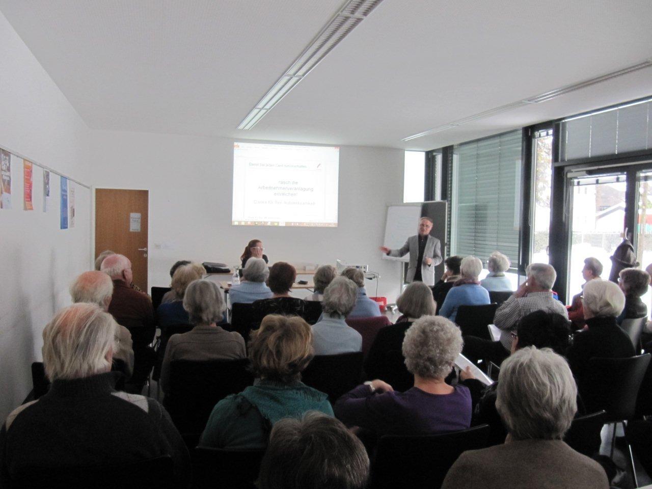 Wertvoller Vortrag vor vollem Saal