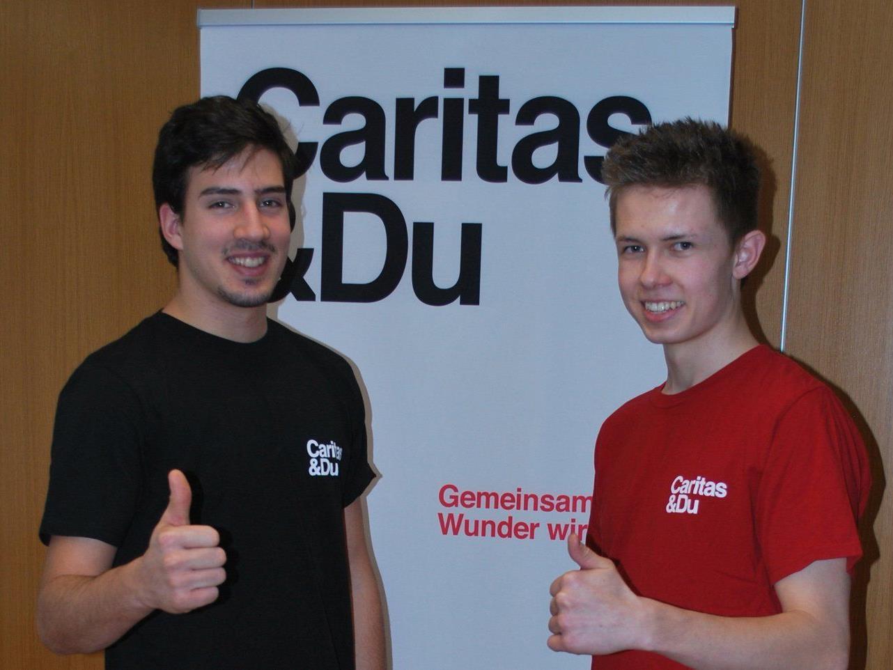 Zivildienst bei der Caritas.
