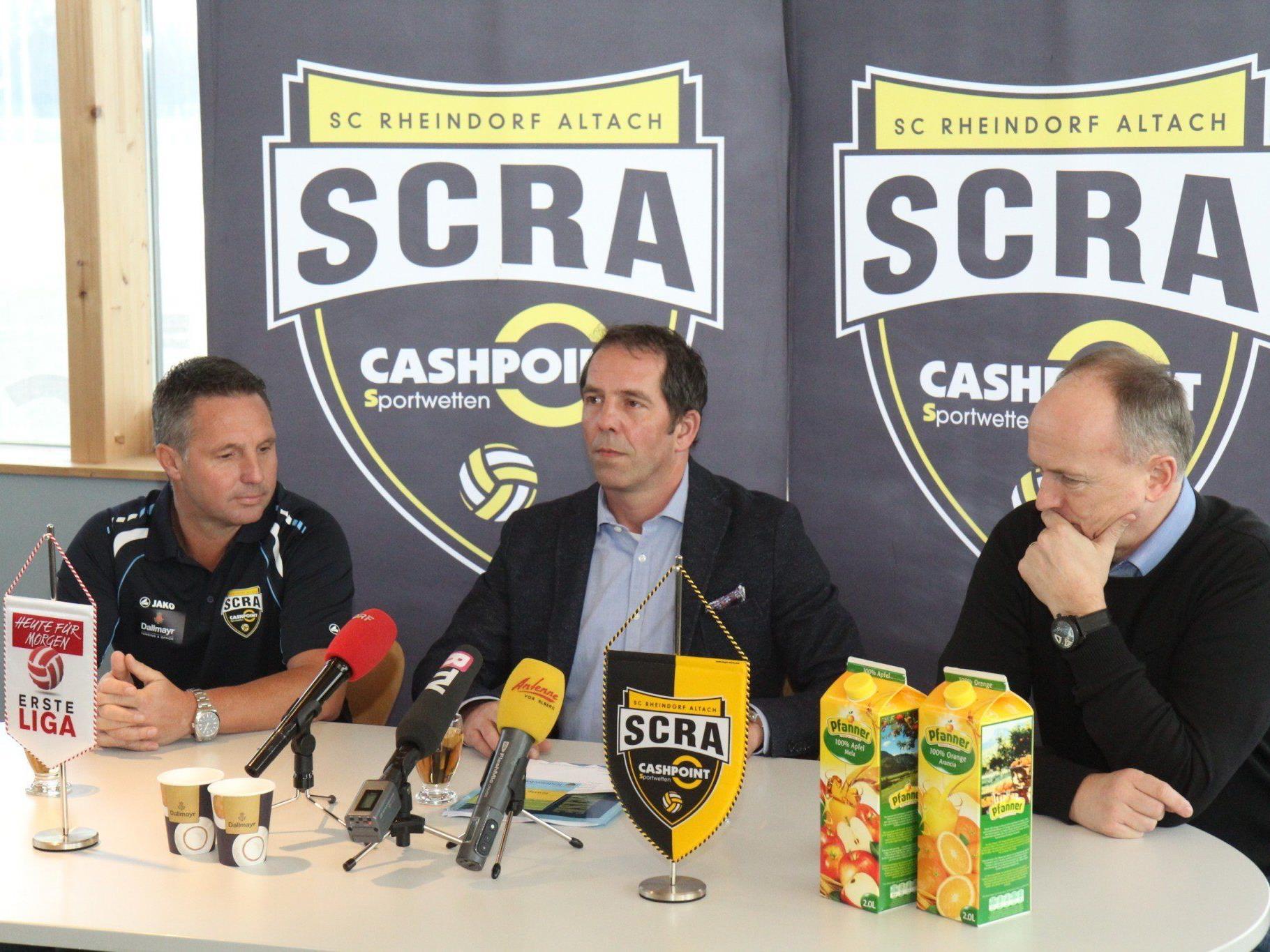 Damir Canadi ist neuer Trainer von Erstligist SCR Altach.