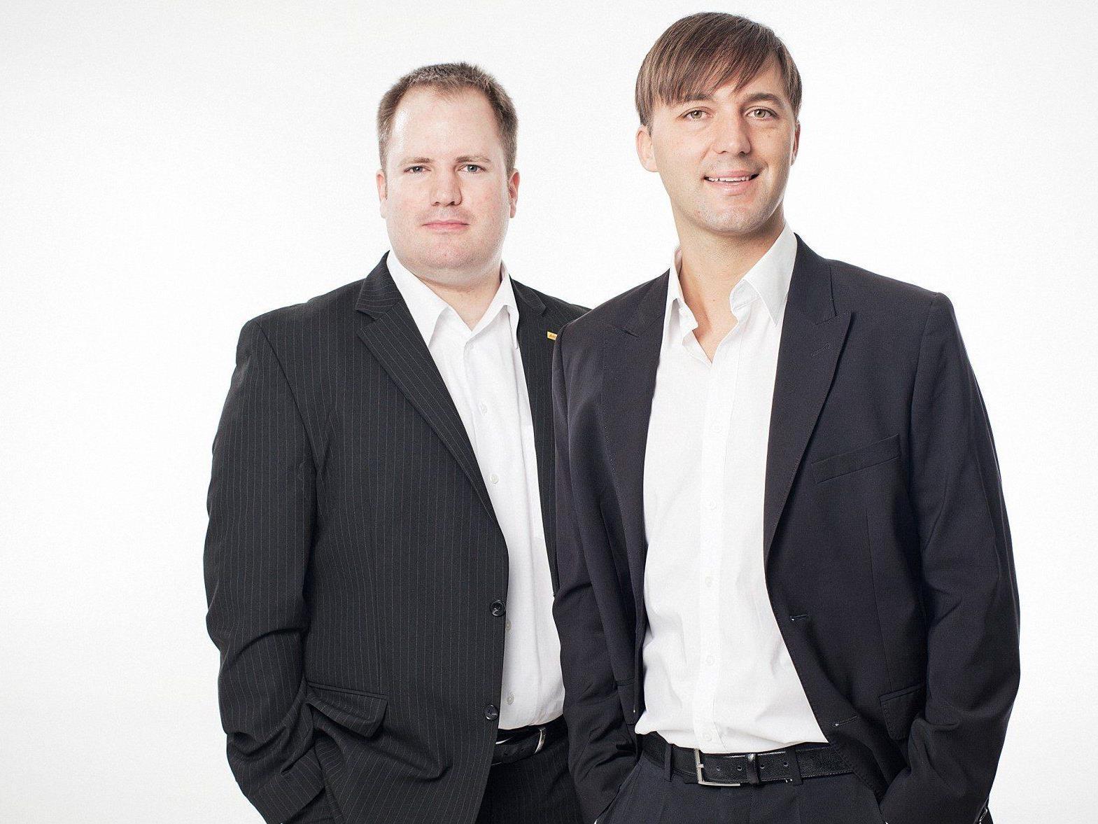 Programmchef Dirk Klee und Geschäftsführer Mario Mally