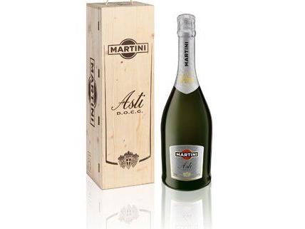 Zum Valentinstag verlosen wir eine 6-Liter-Flasche Martini Asti.