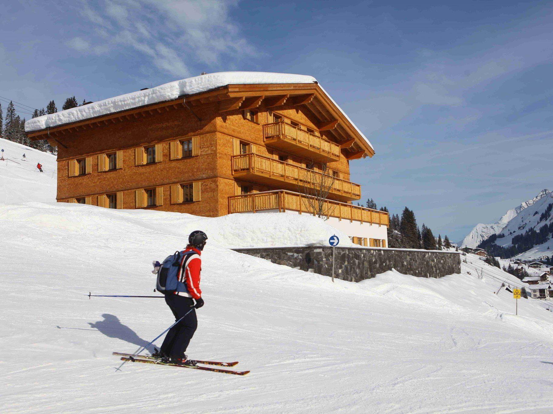 """Das """"Aurelio"""" in Lech - das teuerste Skihotel der Welt."""