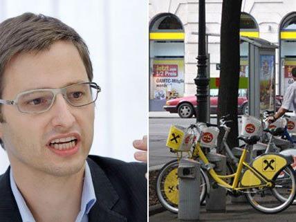Wien Radverkehrsbeauftragter möchte die Zahl der Citybike-Stationen verdoppeln.