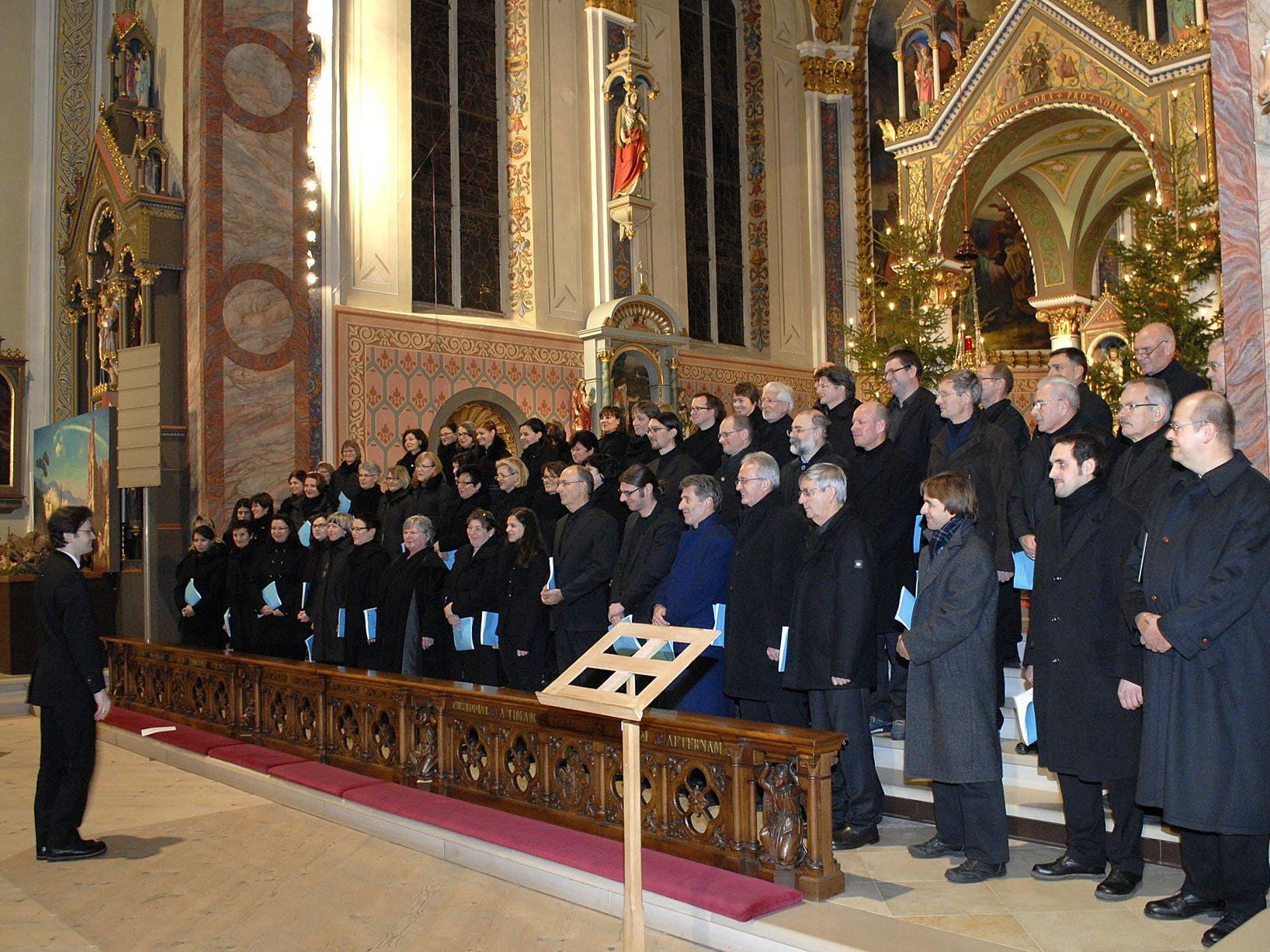 """""""Freu´ Dich, Erd´ und Sternenzelt"""" - weihnachtliches Konzert mit der Chorakademie Vorarlberg in der Pfarrkirche Schruns"""