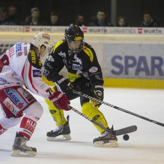 Zweimal geführt, am Ende verlor der EC Dornbirn gegen den Rekordmeister KAC mit 3:5-Toren.