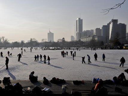 Wien ist auch für jeder Art von Wintersport geeignet