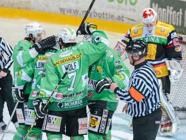 Bregenzerwald ist im Derby gegen VEU Feldkirch der Favorit und will wieder gewinnen.